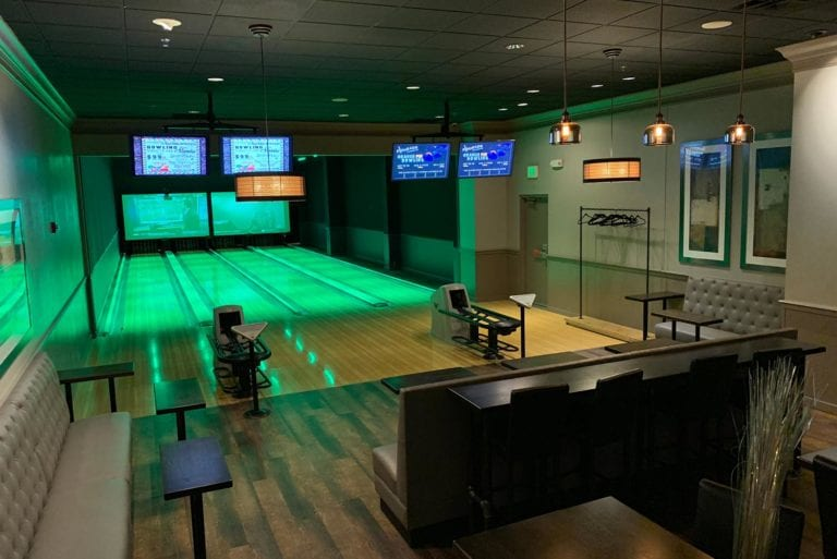 Bowling Suite at Pinheads